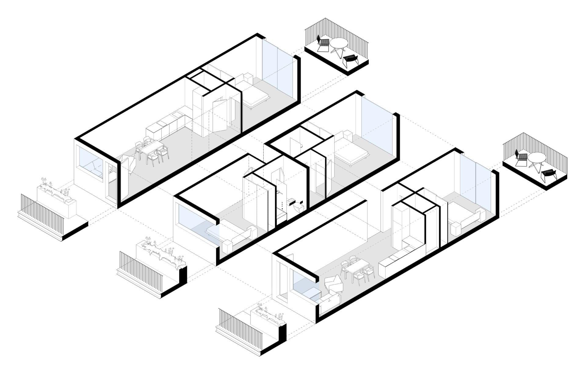 Modular Housing, Birmingham, UK